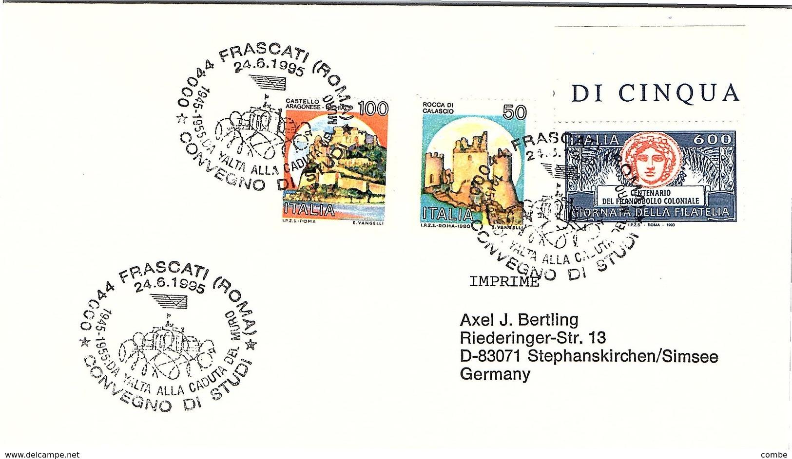 ITALIA.  YALTA ALLA CADUTA DEL MURO FRASCATI 1995 - Seconda Guerra Mondiale