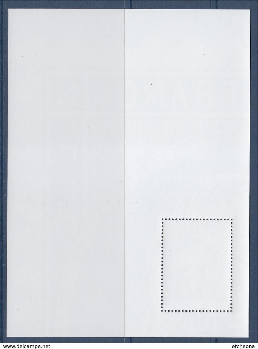 = Bloc Gommé Neuf Le Timbre Cérès A 170 Ans  Phil@poste Sans Valeur 1/4 Timbre Haut Droit - Sheetlets