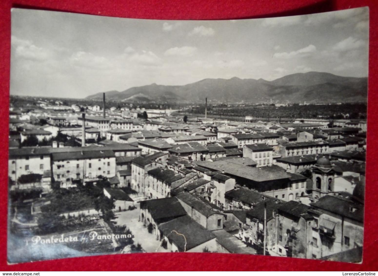 PONTEDERA Pandorama Viaggiata Anni 50 - Italia