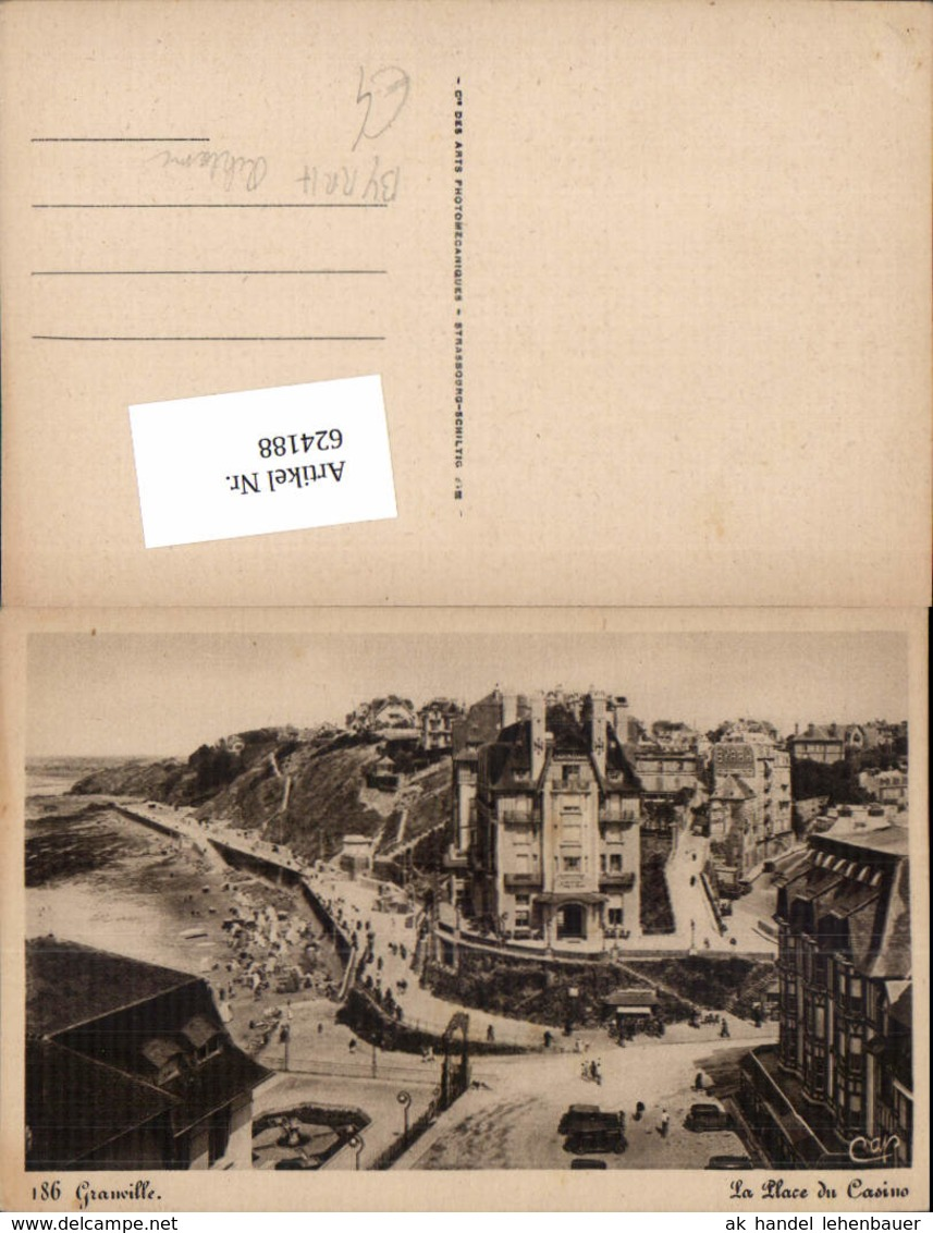 624188,Reklame AK Granville Byrrh Schild - Werbepostkarten