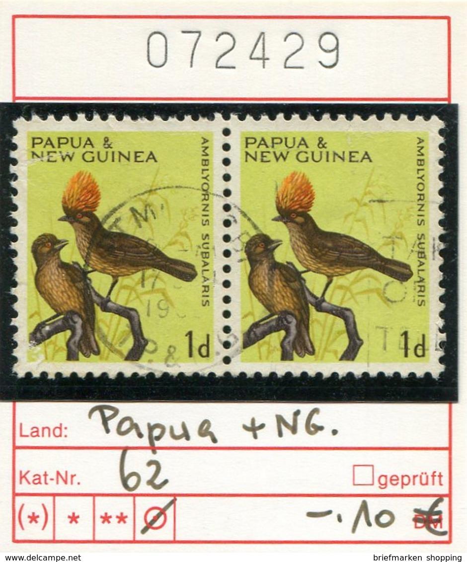 Papua Neuguinea - Papua New Guinea - Michel 62 Paar / Pair - Oo Oblit. Used Gebruikt - Vögel - Oiseaux - Birds - Papua-Neuguinea