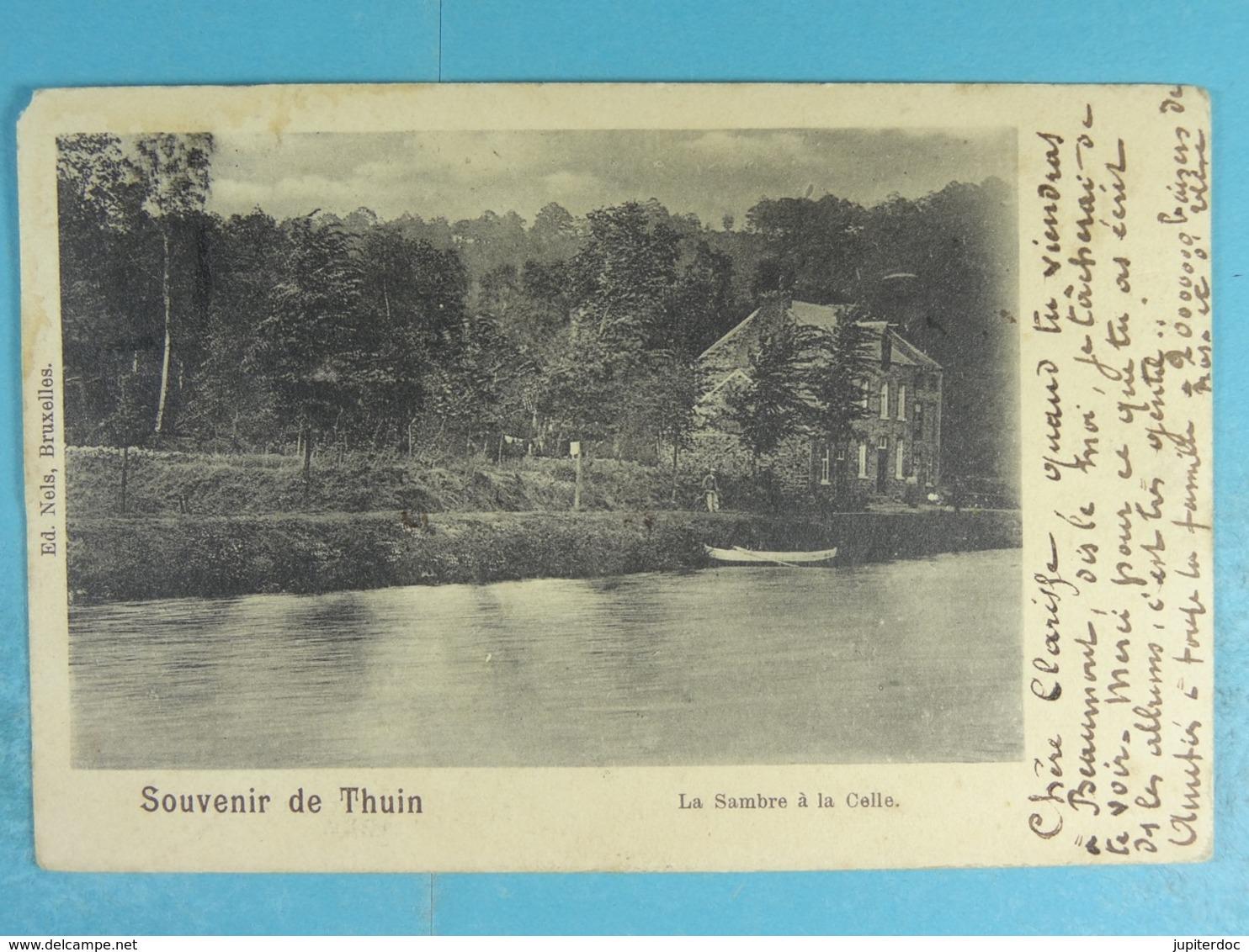 Souvenir De Thuin La Sambre à La Celle - Thuin