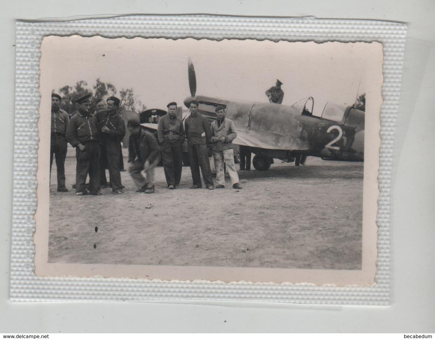 Photo Originale Avion  Sfax  à Identifier - Luftfahrt