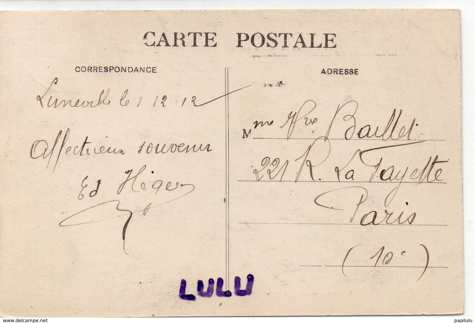 DEPT 54 : édit. E Bastien : Lunéville Le Château Vu Des Bosquets - Luneville
