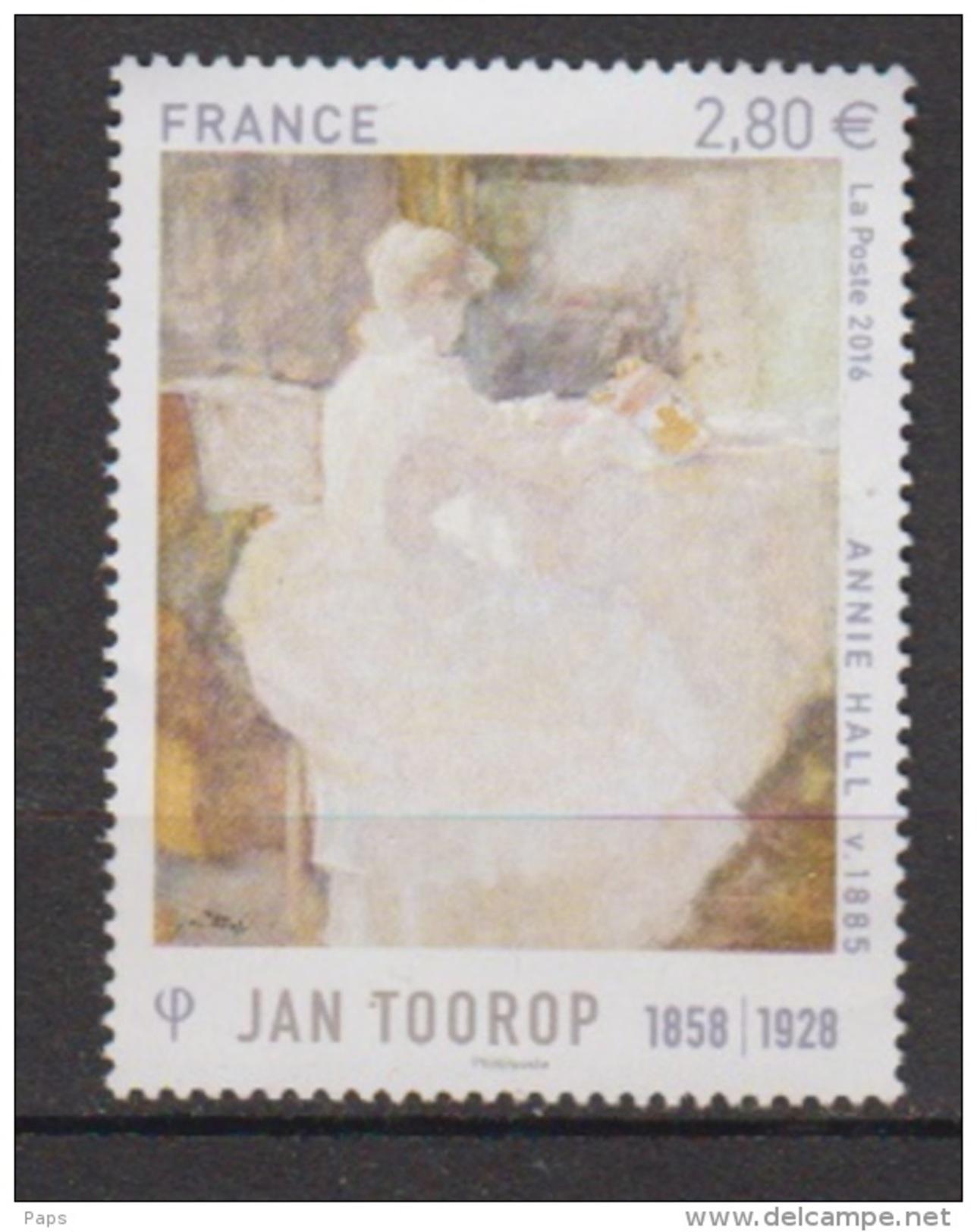 2016-N°5033**  J.TOOROP - Francia
