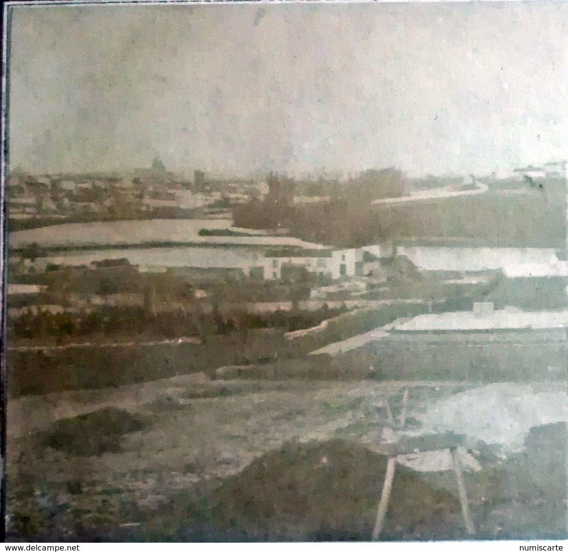 """Photo Stéréo PARIS - Notée Au Dos """" Vue De Paris """" C 1860 - Photos Stéréoscopiques"""