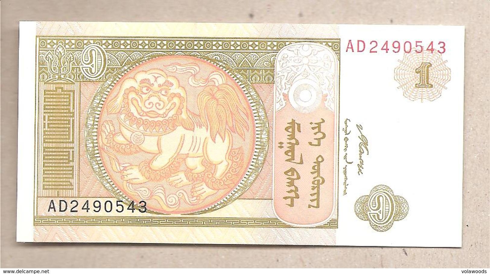 Mongolia - Banconota Non Circolata FdS Da 1 Tögrög - P-61Aa - 2008 - Mongolia