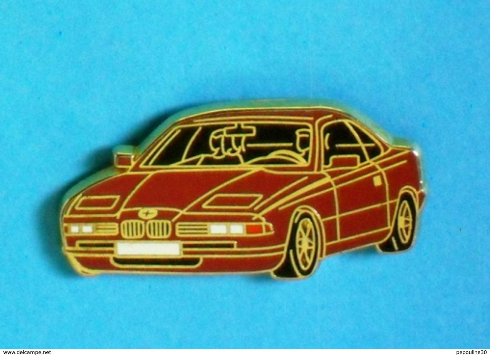 1 PIN'S // ** BMW 8 SÉRIES / 1991 ** . (Arthus Bertrand Paris) - BMW