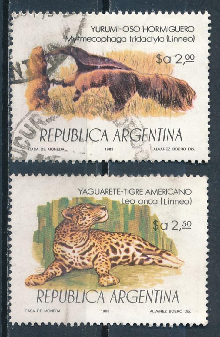°°° ARGENTINA - Y&T N°1368/69 - 1983 °°° - Argentina