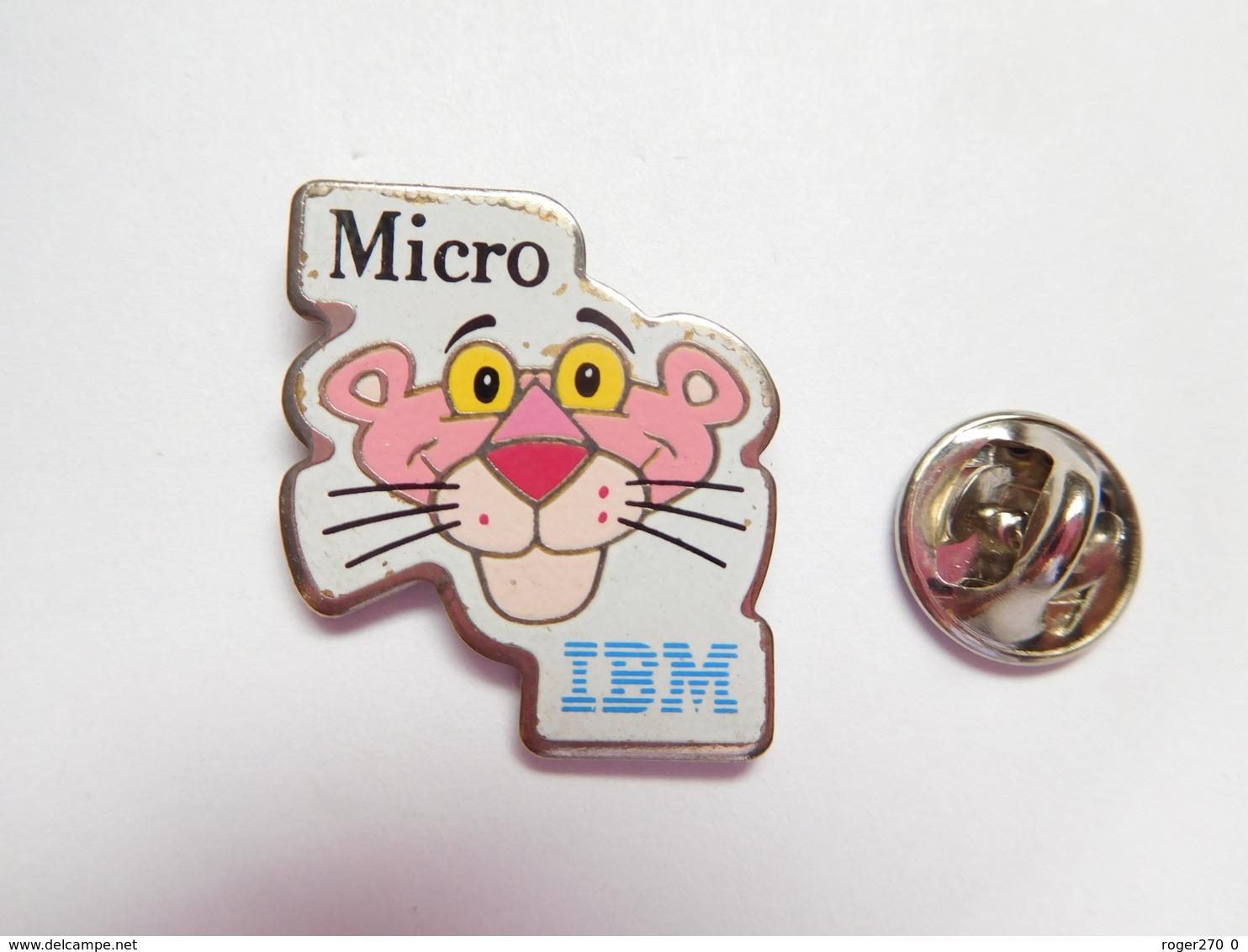 Beau Pin's , Informatique , IBM , Pink Panther - Informatique