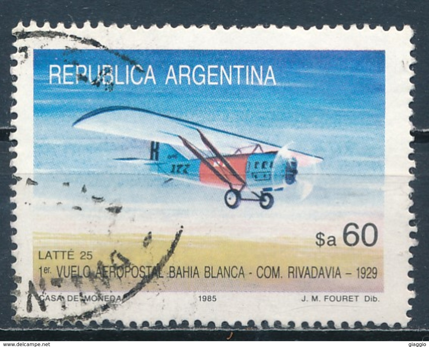 °°° ARGENTINA - Y&T N°1459 - 1985 °°° - Used Stamps