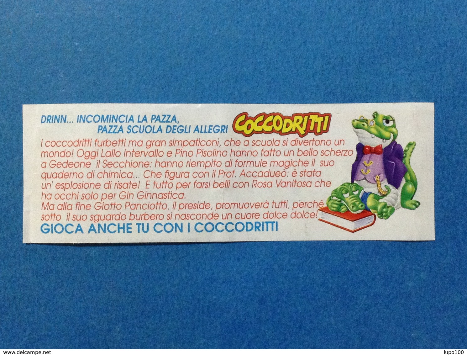 FERRERO KINDER ITALIA CARTINA COCCODRITTI - Istruzioni