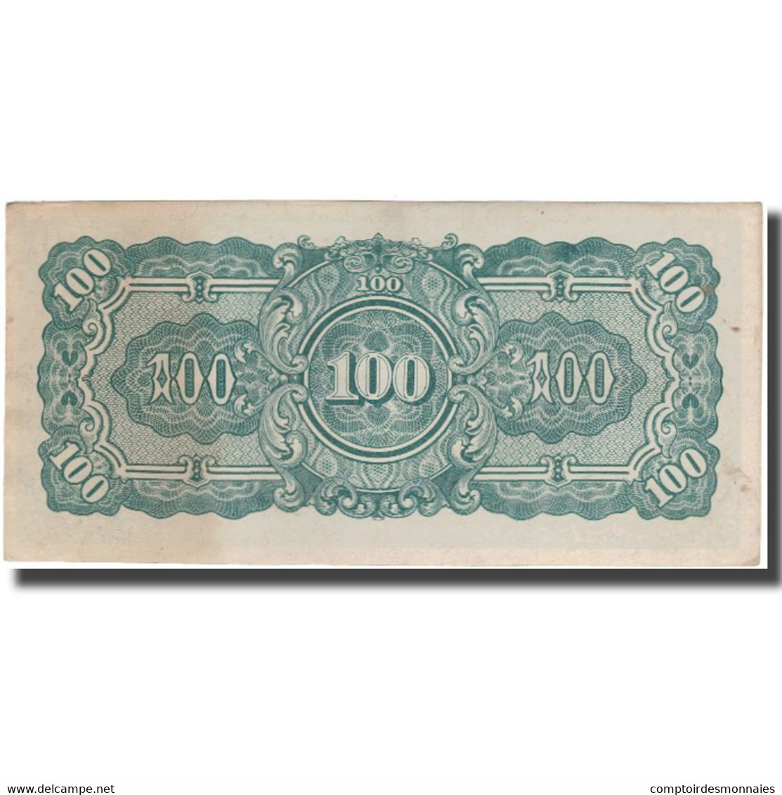 Billet, Birmanie, 100 Rupees, KM:17a, TTB - Myanmar