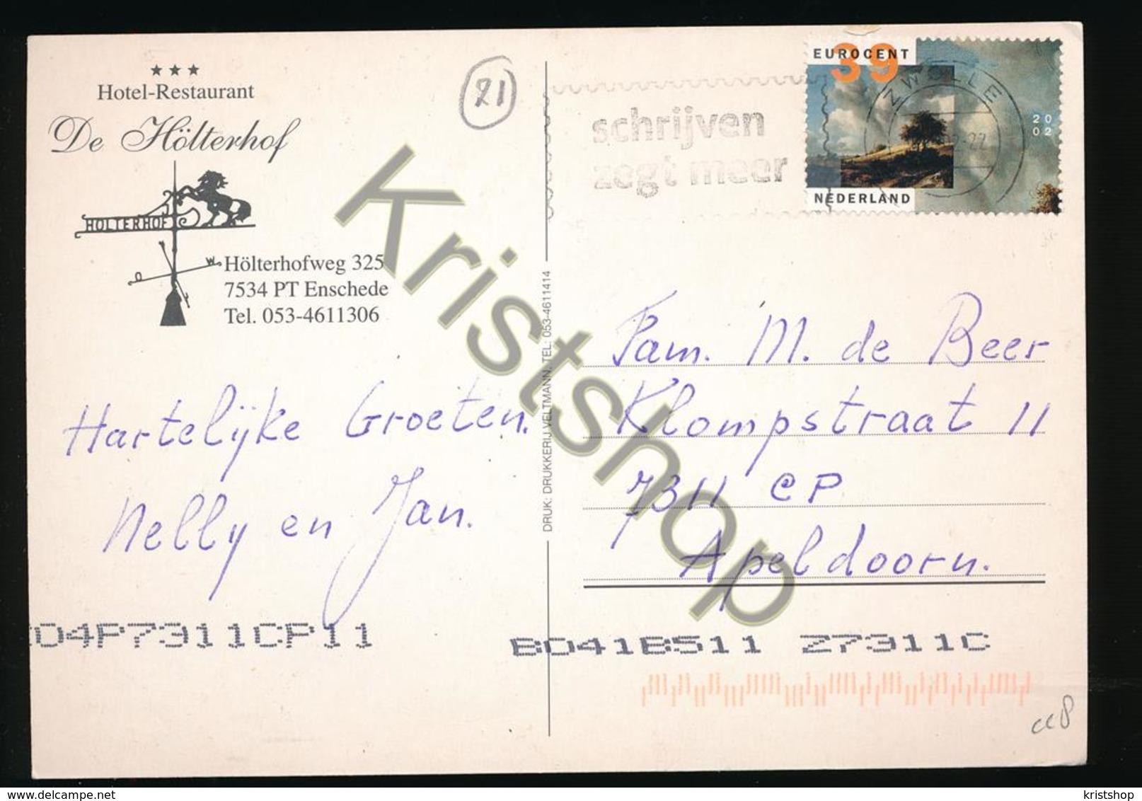 Enschede - Hotel De Hölterhof [KA 4.708 - Nederland