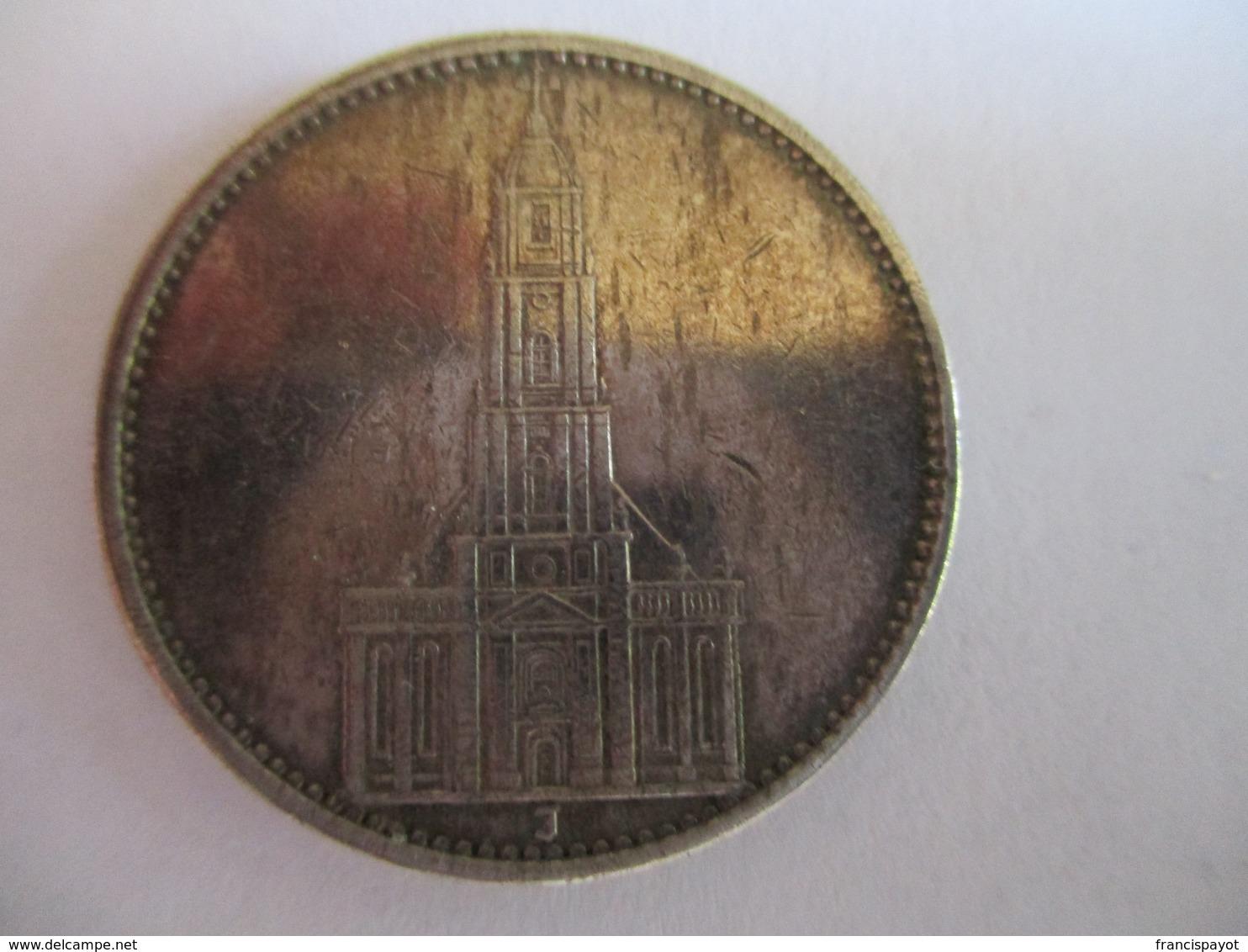 5 Reichmark 1934 J - [ 4] 1933-1945: Drittes Reich
