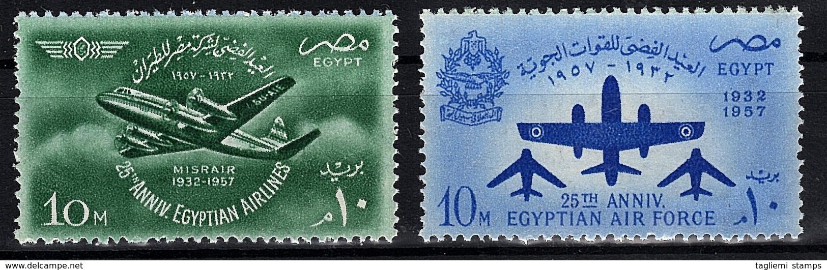 Egypt, 1957, SG 545 - 546, MNH - Egypt