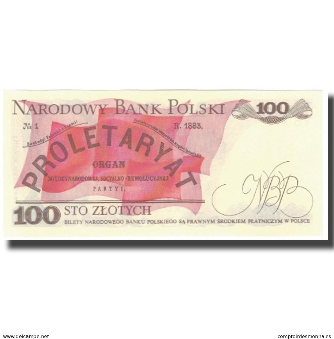 Billet, Pologne, 100 Zlotych, 1988, KM:143e, NEUF - Pologne