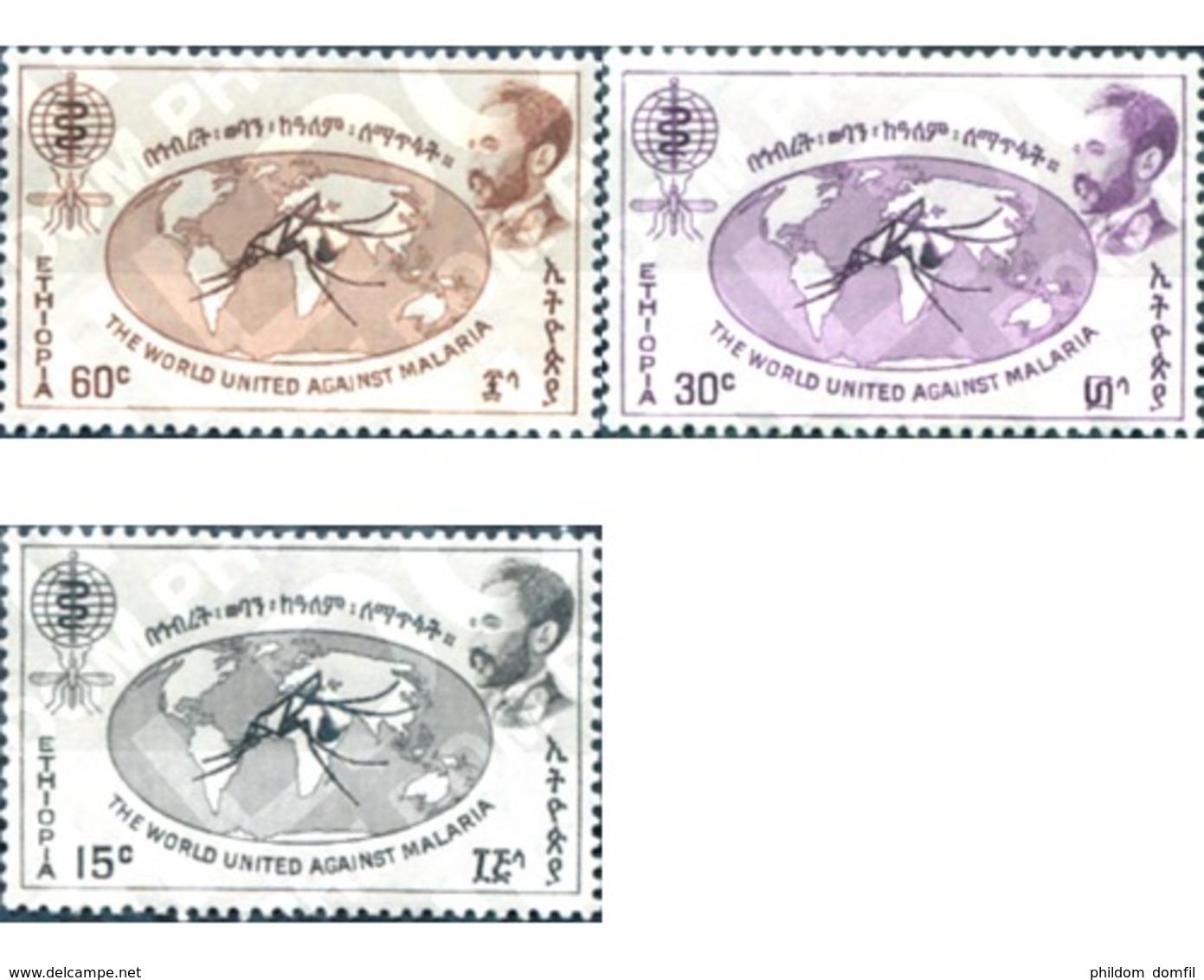 Ref. 29392 * MNH * - ETHIOPIA. 1962. DIA MUNDIAL CONTRA LA MALARIA - Ethiopie