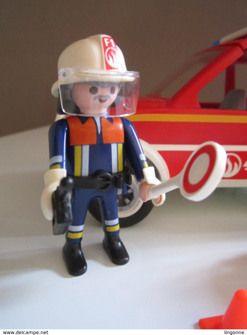 PLAYMOBIL RESCUE VOITURE DE POMPIER 4X4 FIRE  4512 - Playmobil