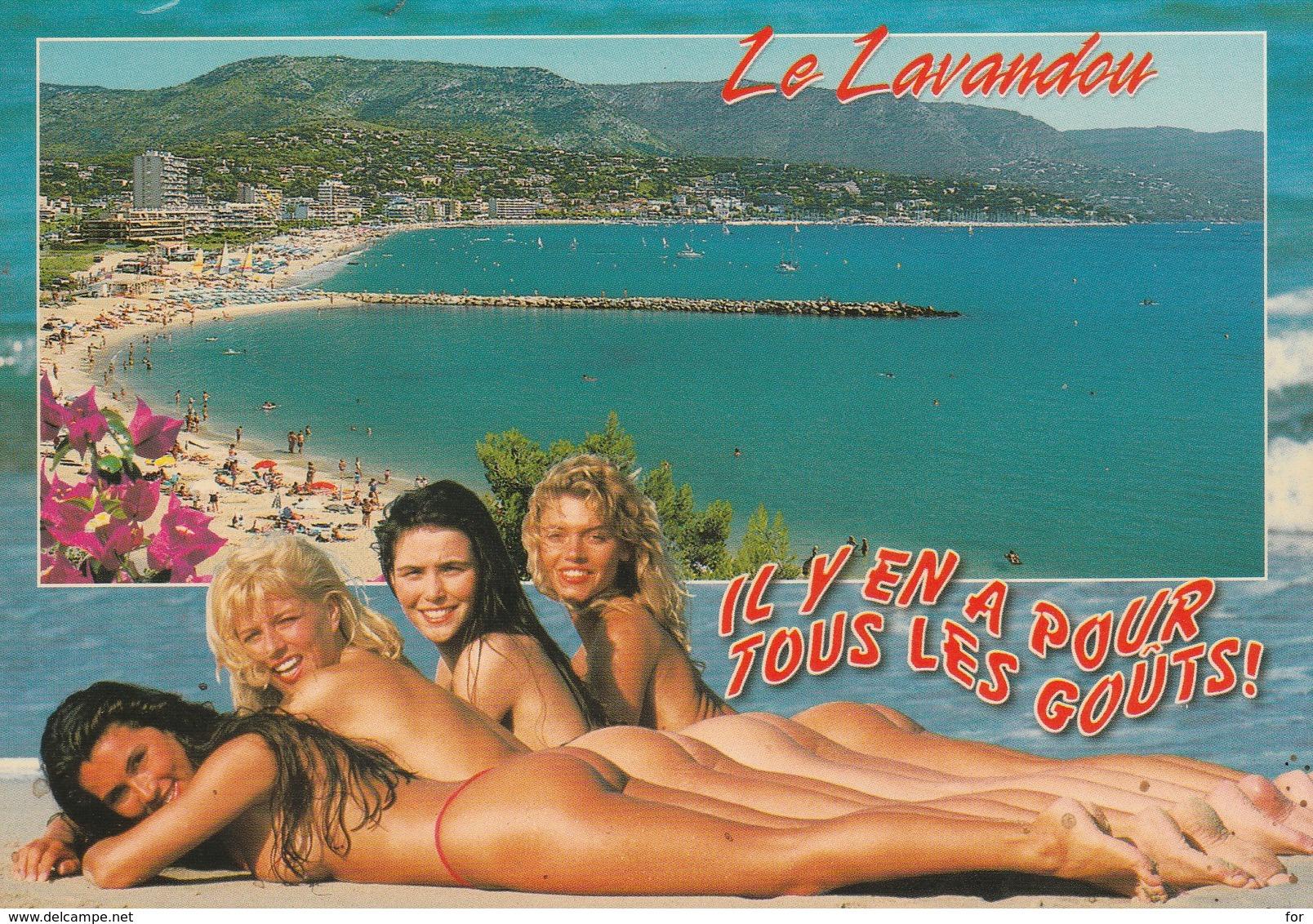 Pin-up : 4 Belles Pin-ups - Il Y En A Pour Tous Les Gouts ! ( LE LAVANDOU - Var ) - Pin-Ups