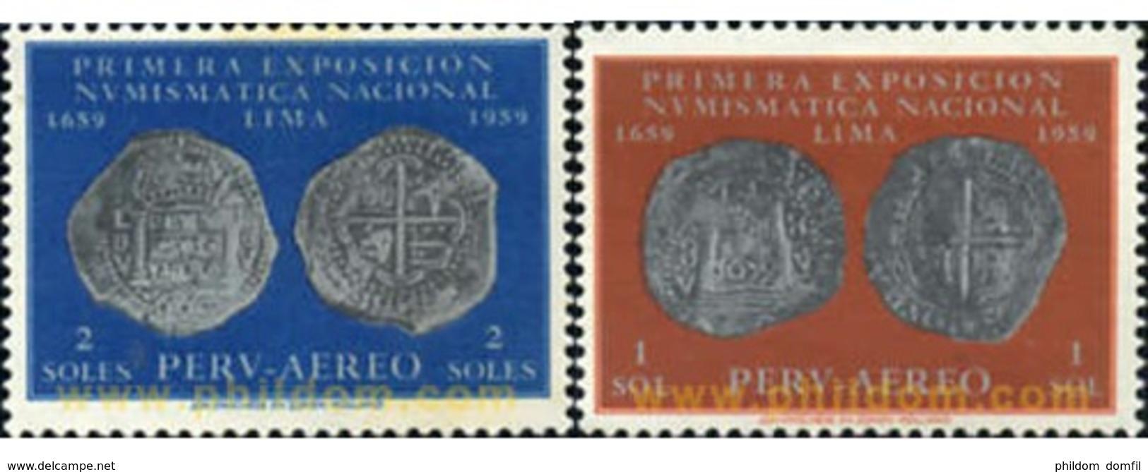 Ref. 352169 * MNH * - PERU. 1961. IV CENTENARIO DE LA PRIMERA MONEDA - Perù