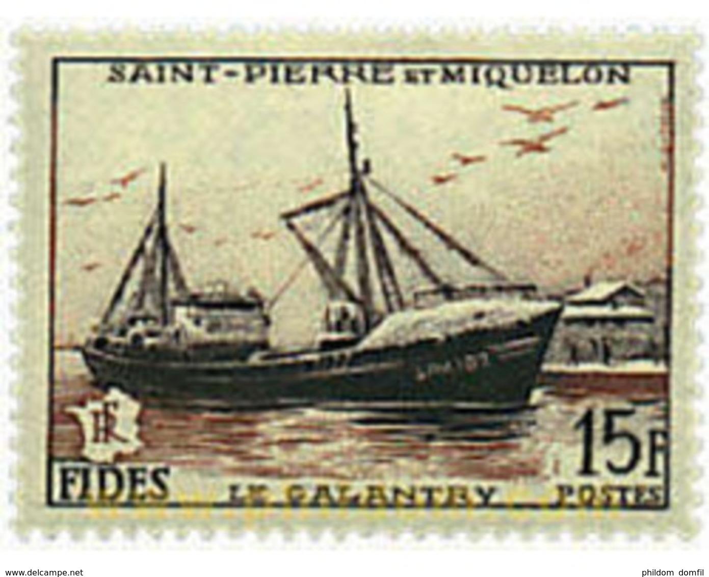 Ref. 33161 * MNH * - ST. PIERRE AND MIQUELON. 1956. FIDES . FIDES - Ungebraucht
