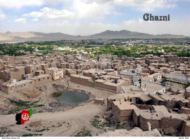 Afghanistan Ghazni City Aerial View New Postcard - Afghanistan