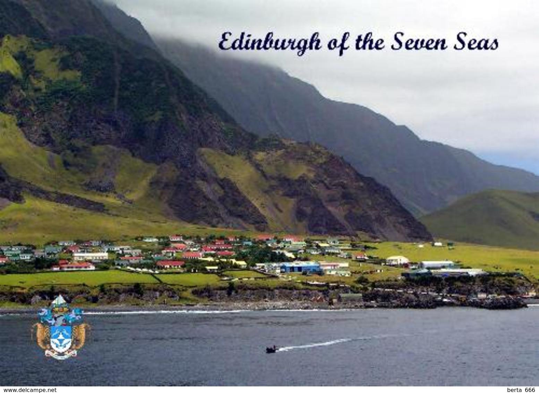 Tristan Da Cunha Island Edinburgh Of The Seven Seas Waterfront New Postcard - Ansichtskarten