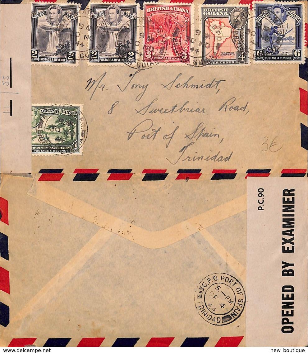 NB - [901195]B/TB//-Guyane  -  Nature - Guyane Britannique (...-1966)