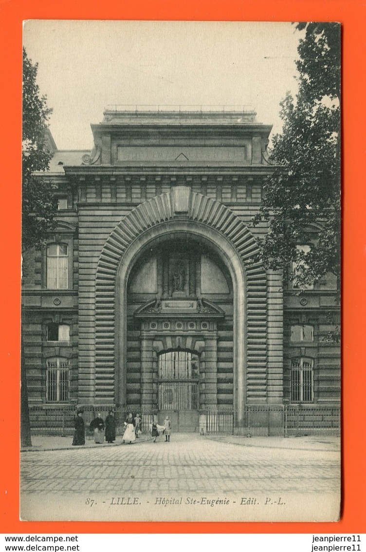 ET/191 LILLE HOPITAL STE EUGENIE SAINTE // Animée - Lille