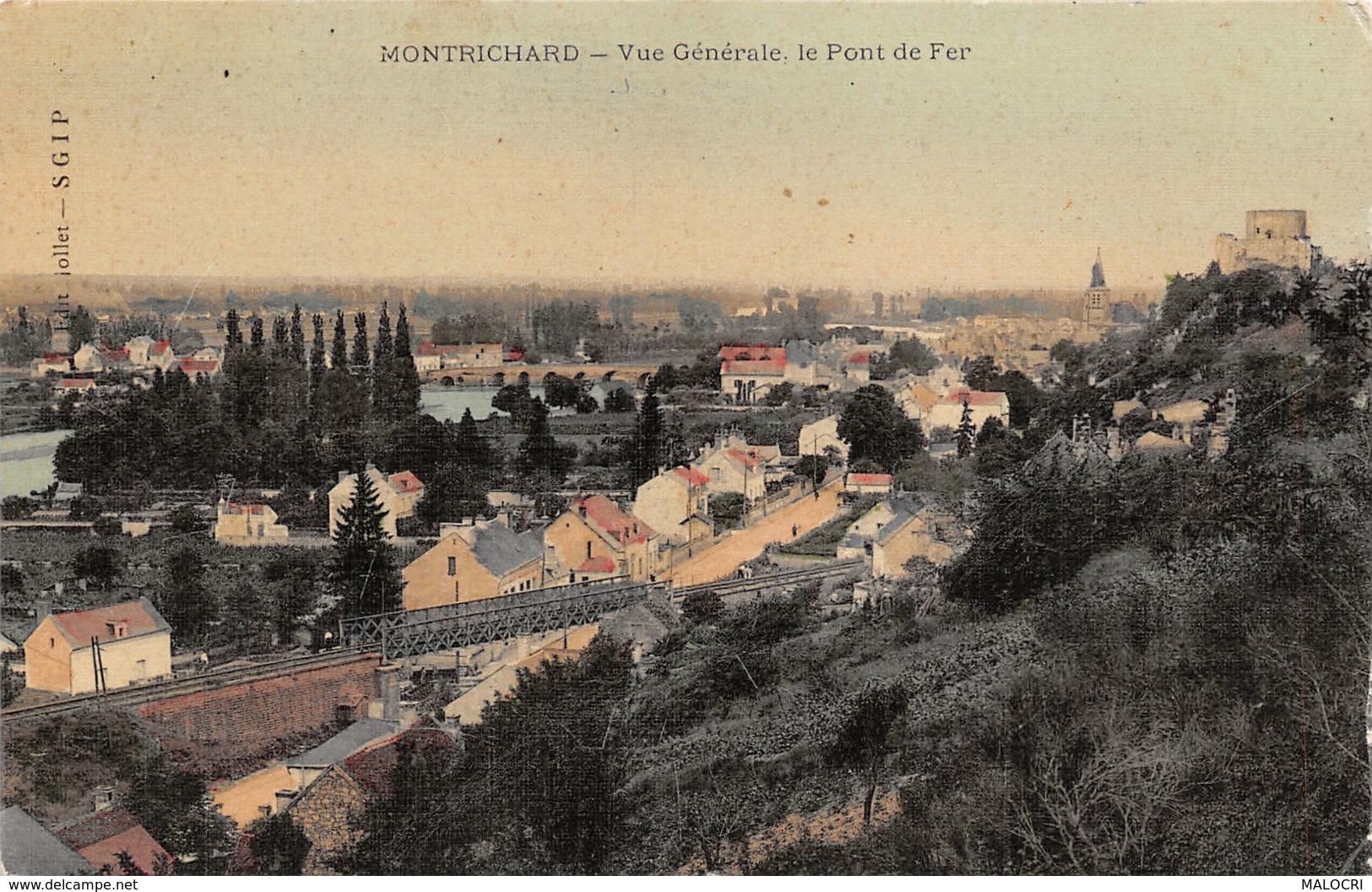 37-MONTRICHARD-N°1195-H/0253 - Montrichard