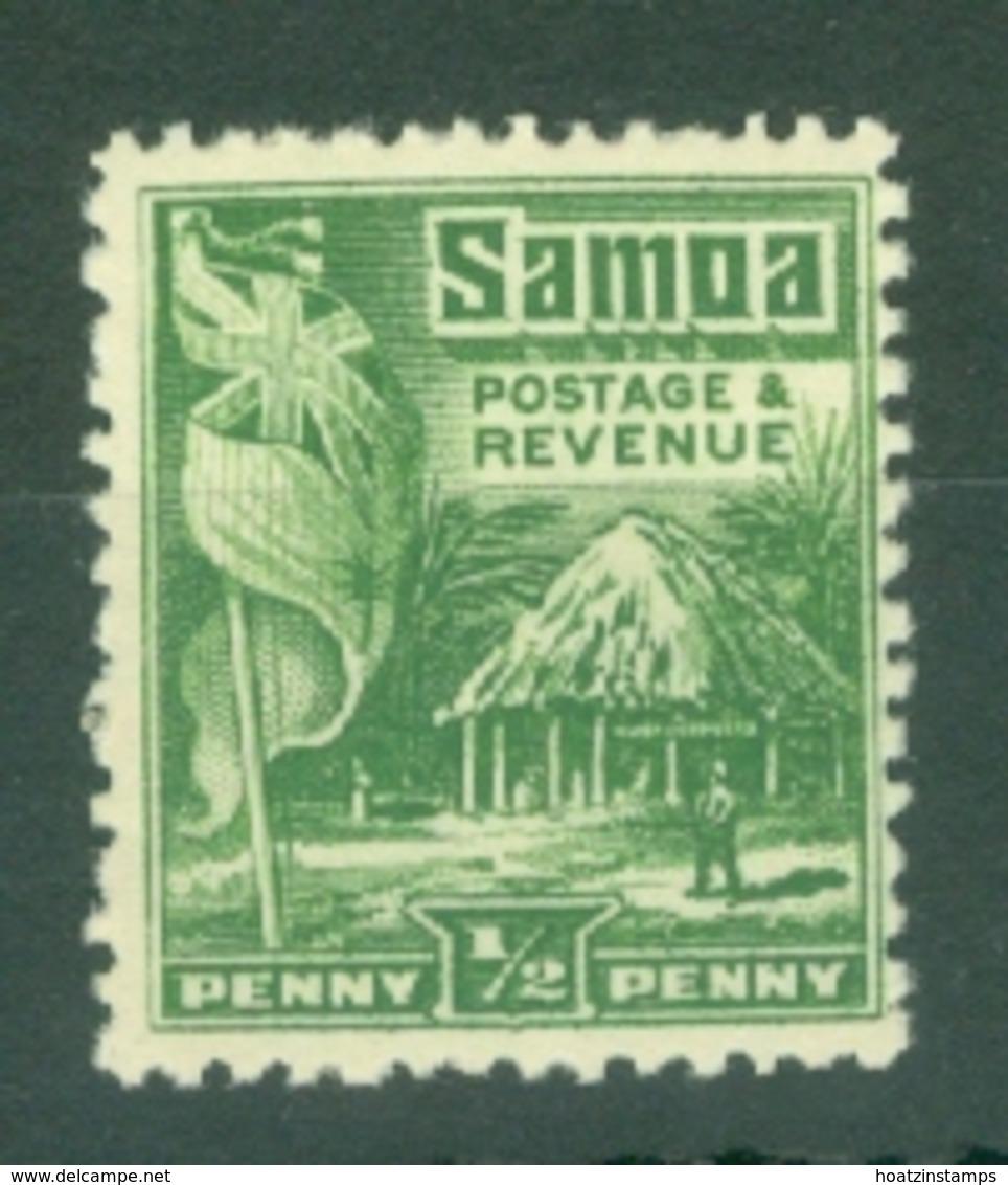 Samoa: 1921   Native Hut   SG153    ½d  [Perf: 14 X 13½]   MH - Samoa