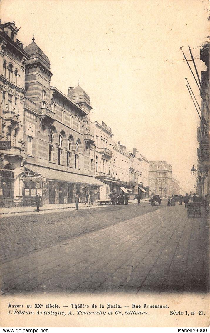 Antwerpen Anvers      Rue Annessens Annessensstraat  Theatre De La Scala         L 232 - Antwerpen