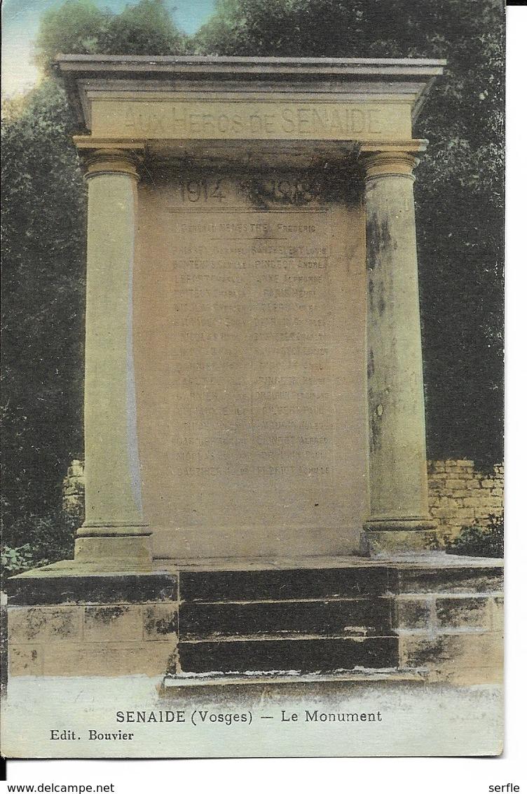 88 - Senaide - Le Monument - Autres Communes