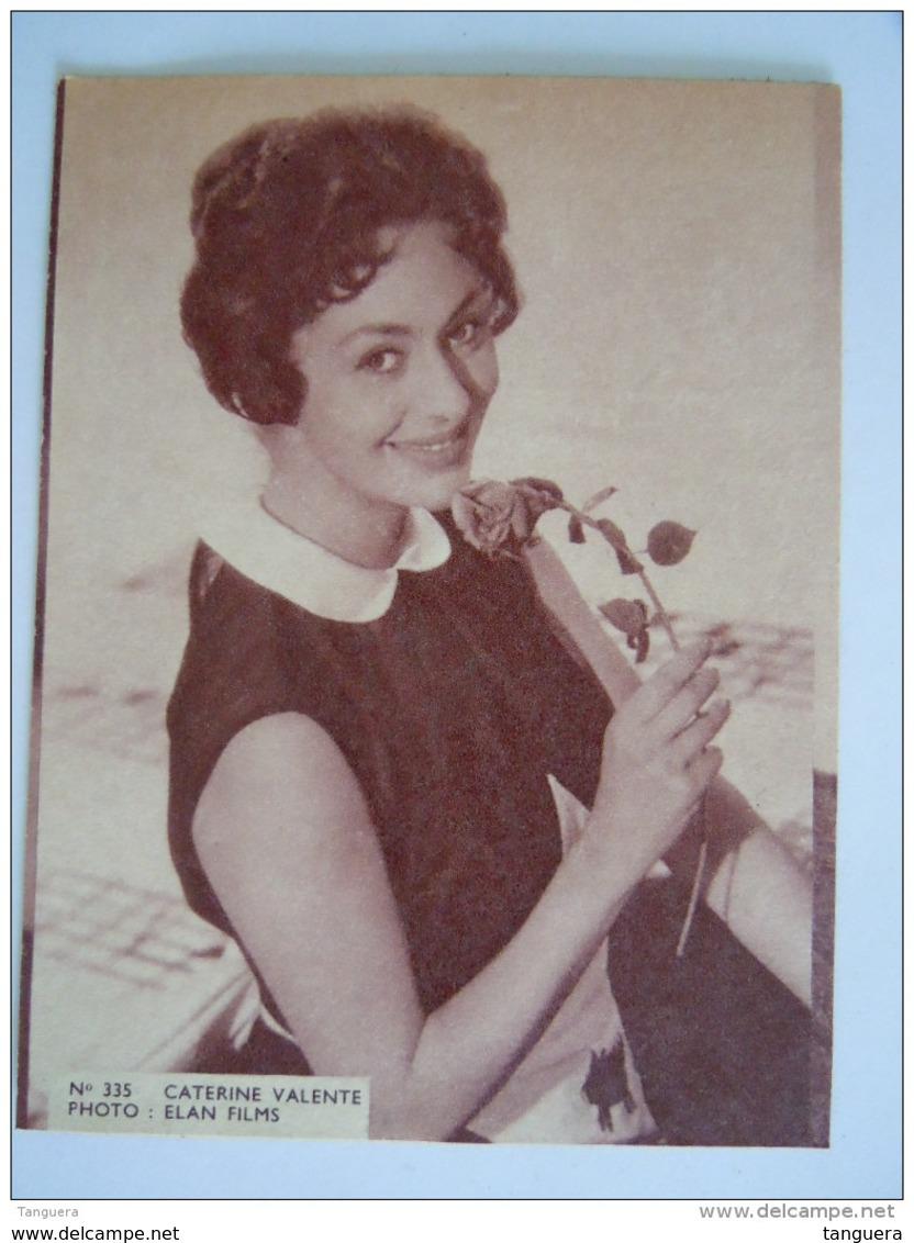 335 Caterine Valente Photo Foto Vintage Cinema Flyer Belge Torhout - Photographs