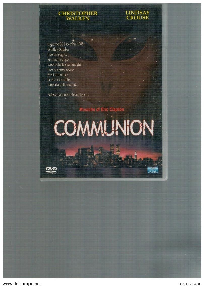 COMMUNION STRIEBER CONTENUTI EXTRA MUSICHE DI ERIC CLAPTON DVD Ita/eng UFO ALIEN - Ciencia Ficción Y Fantasía