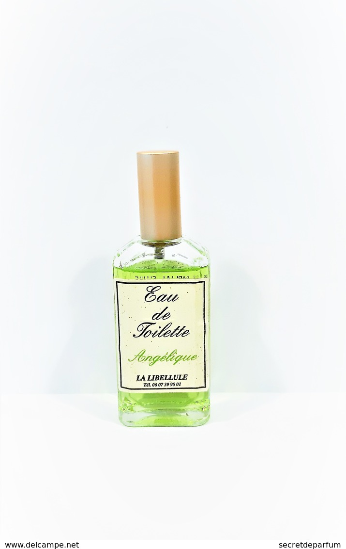 Flacon De Parfum   Eau De Toilette  Angélique  Marque  La Libellule  45 Ml  NEUF Spray - Donna
