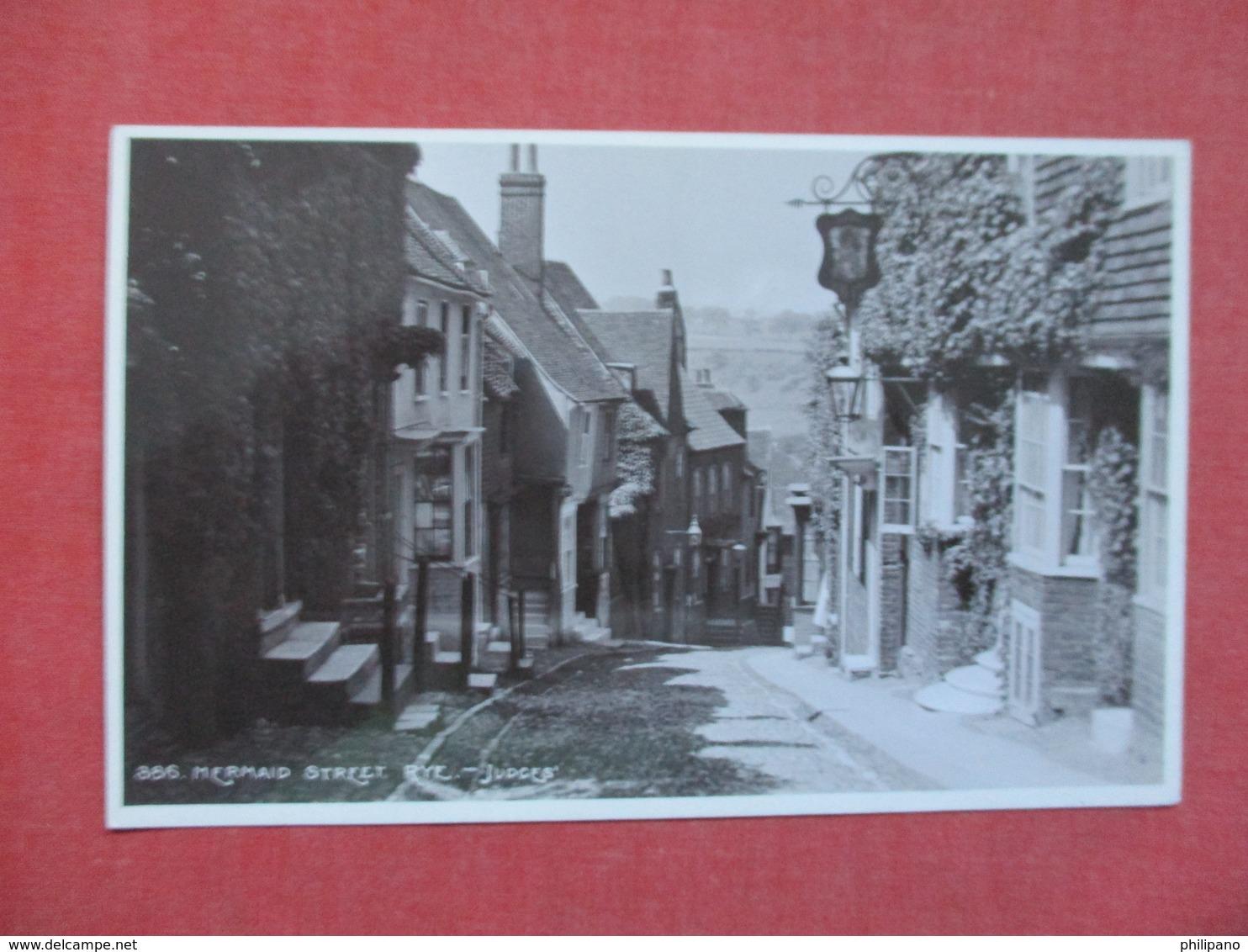 RPPC   Judges   England > Sussex > Rye  MERMAID STREET  Ref 3516 - Rye