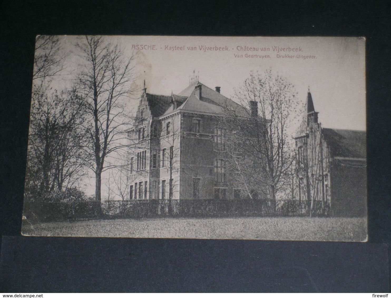 Z05 - Assche - Kasteel Van Vijverbeek - Château Van Vijverbeek - Asse
