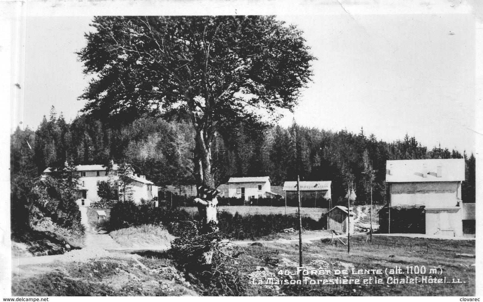 FORET DE LENTE     (CA ST JEAN EN ROYANS) Maison Forestière Et Chalet Hôtel - Autres Communes