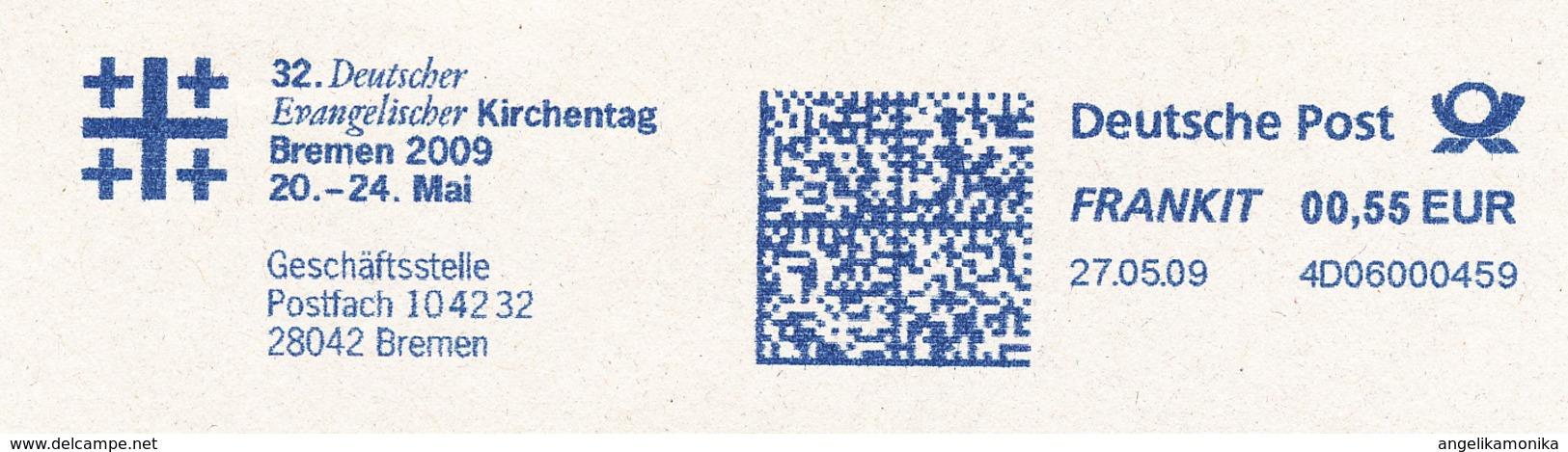 Freistempel 5166 Evangelischer Kirchentag Bremen - Machine Stamps (ATM)