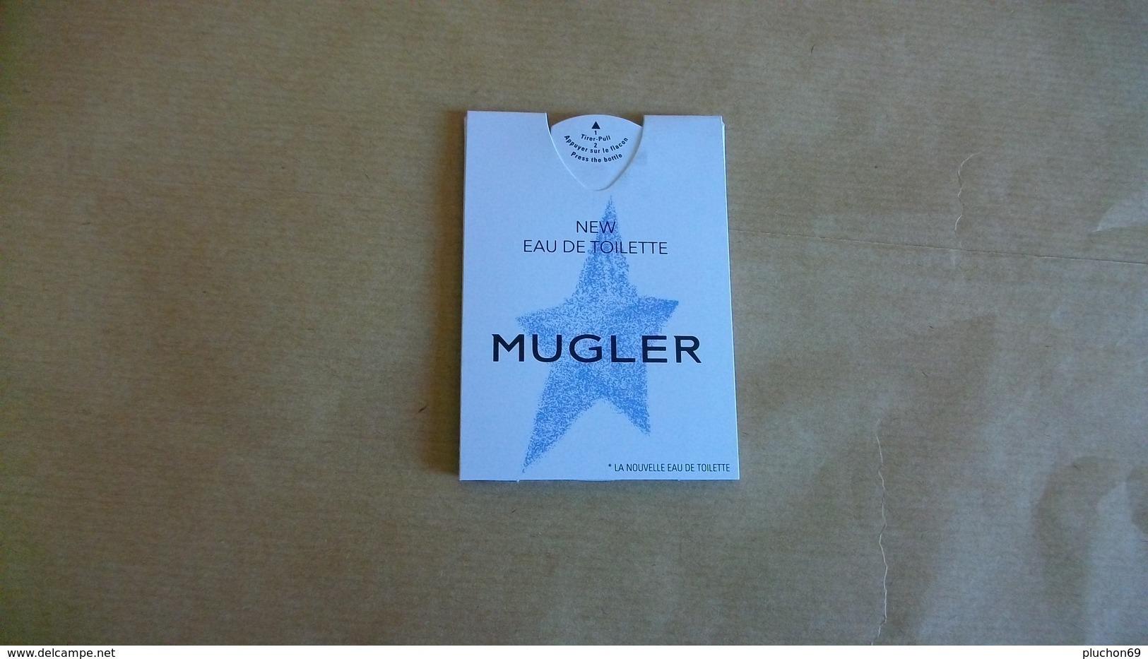 Carte Parfumée /Puffer Thierry Mugler Ew Eau De Toilette (nouveauté Juin 2019) - Perfume Cards