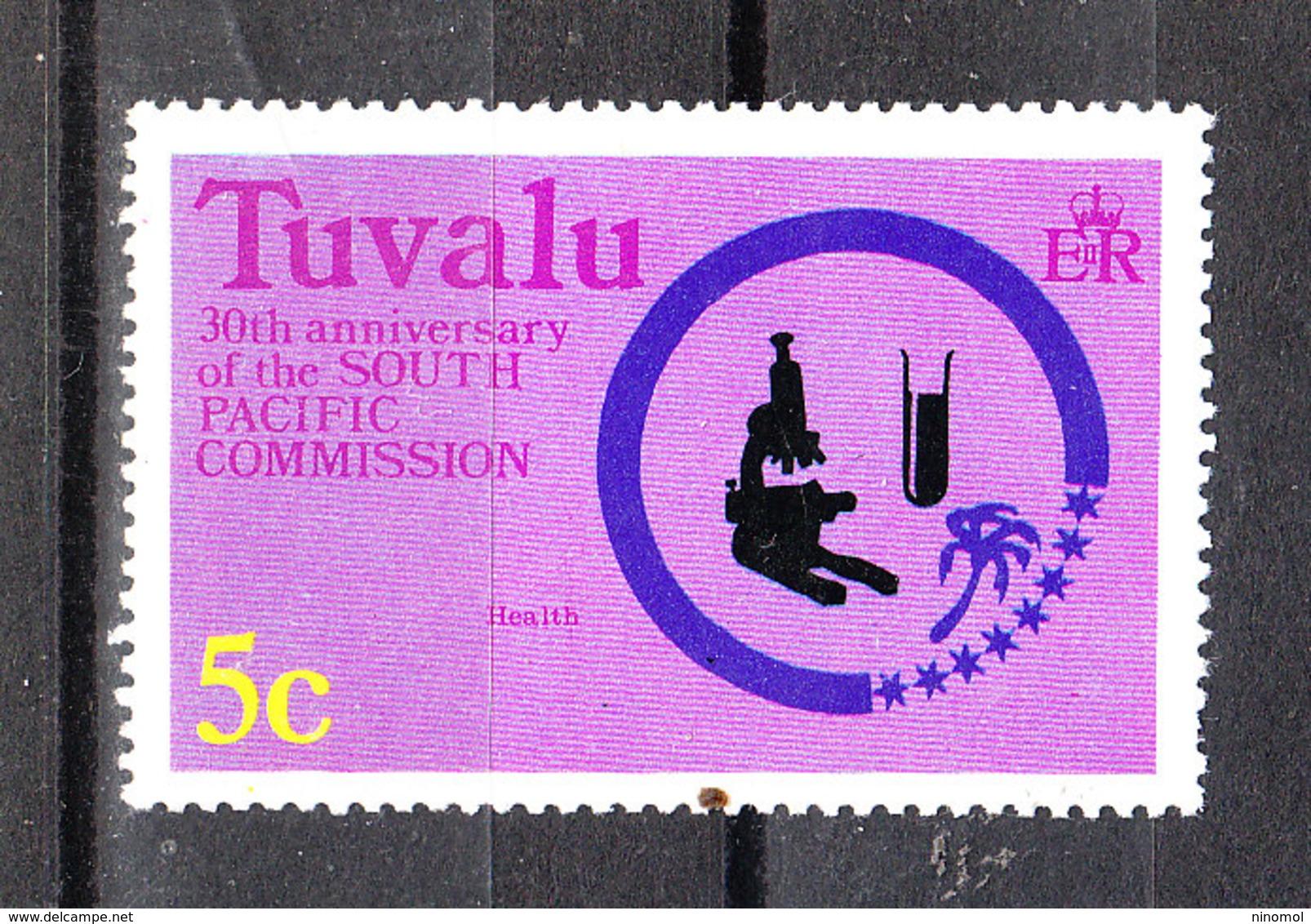 Tuvalu  - 1977. Pro Sanità: Cura Delle Malattie. Pro Health: Treatment Of Diseases. MNH - Medicina