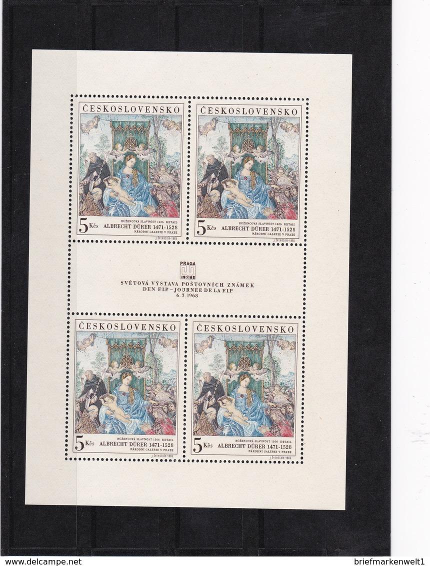 (K 4255) Tschechoslowakei, KB 1805 ** - Blocks & Sheetlets