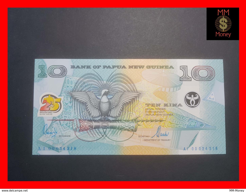 PAPUA NEW GUINEA 10 KINA 2000 P. 23 UNC *COMMEMORATIVE RARE* - Papua Nuova Guinea