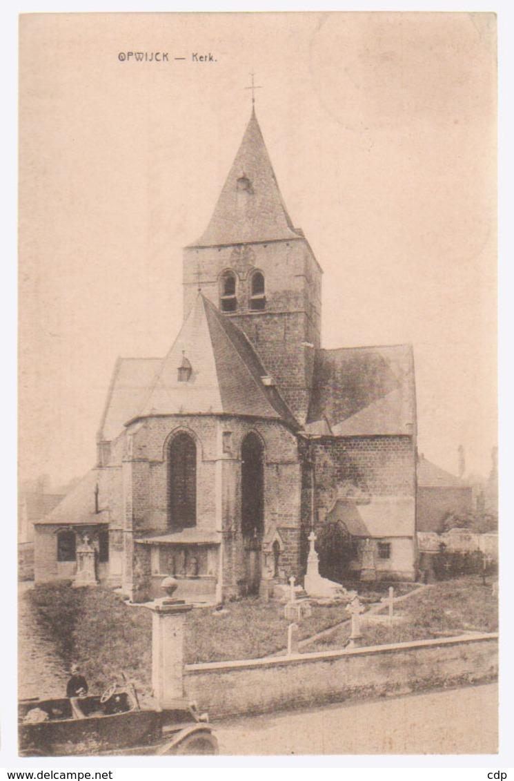 Cpa Opwijck  1928   Voiture - Opwijk