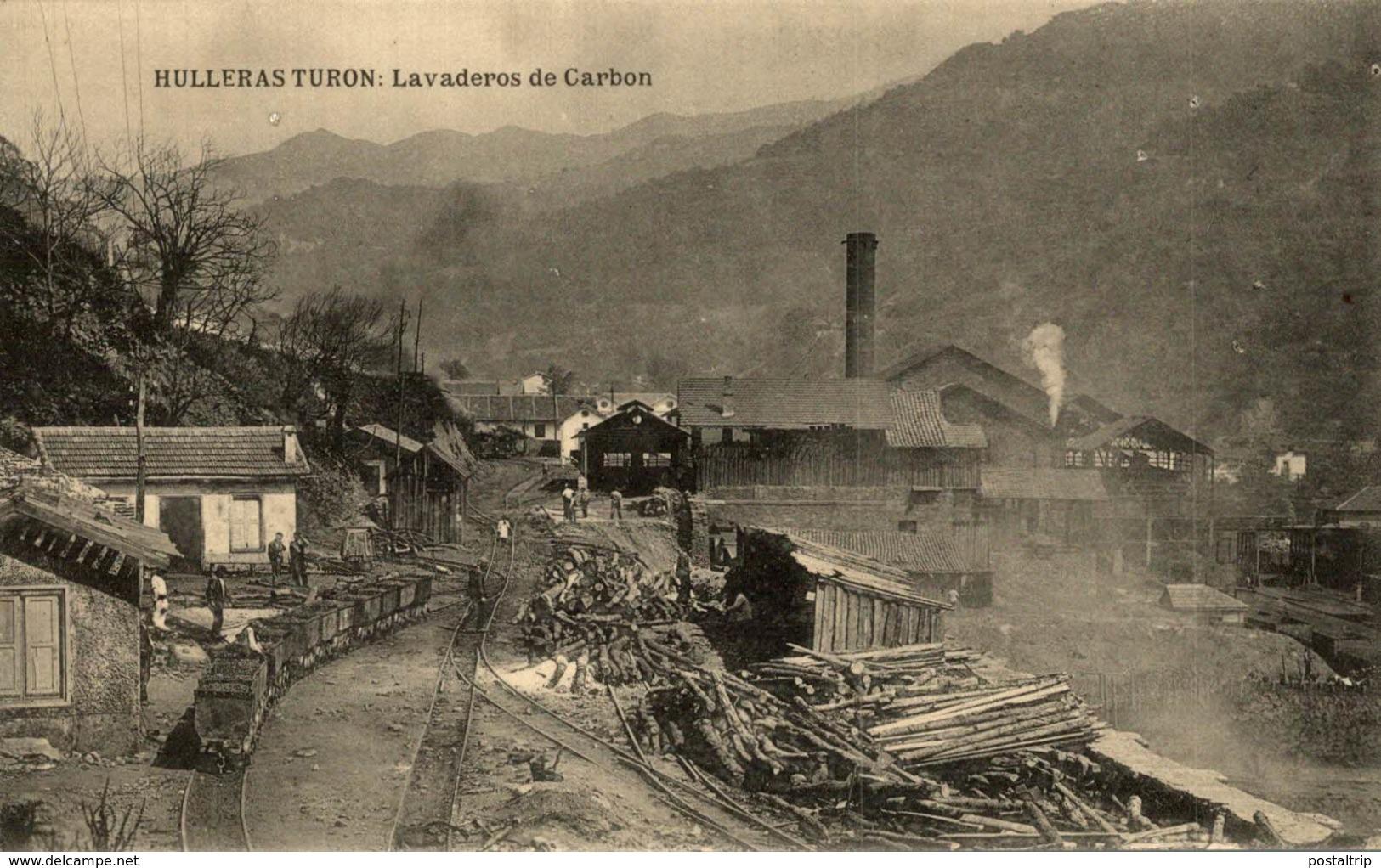 HULLERAS DE TURON (ASTURIAS).- LAVADEROS DE CARBON - Asturias (Oviedo)