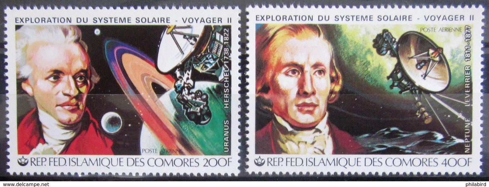 COMORES                   PA 175/176                      NEUF** - Comores (1975-...)