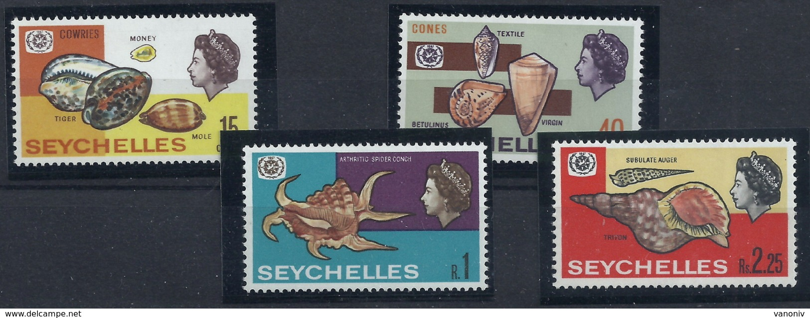 Seychellen 239/242 ** - Seychelles (1976-...)