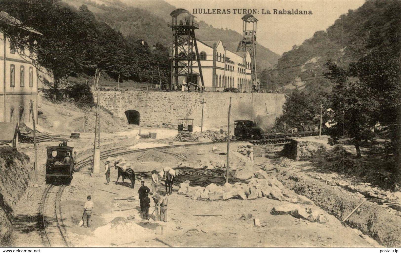 HULLERAS DE TURON (ASTURIAS).- LA RABALDANA - Asturias (Oviedo)